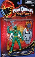 """Power Rangers Mystic Force Light Knight Wolf New Ranger 5/"""" Factory Sealed 2006"""