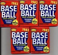 15 cards//pack - Possible Rookies Of Tony Gwynn 1 Unopened Pack of 1983 Fleer Baseball Cards Wade Boggs Ryne Sandberg Rookies and more!