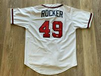 John Rocker autographed signed jersey MLB Atlanta Braves PSA w/ COA