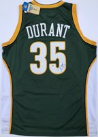 on sale b8393 b6f4b Kevin Durant #35 Autographed Signed Memorabilia Seattle Supersonics Adidas  Rookie Jersey PSA/DNACUSTOM FRAME YOUR JERSEY