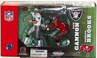 RICH GANNON vs DERRICK BROOKS Deluxe NFL 2 Figure Pack McFarlane Sportspicks