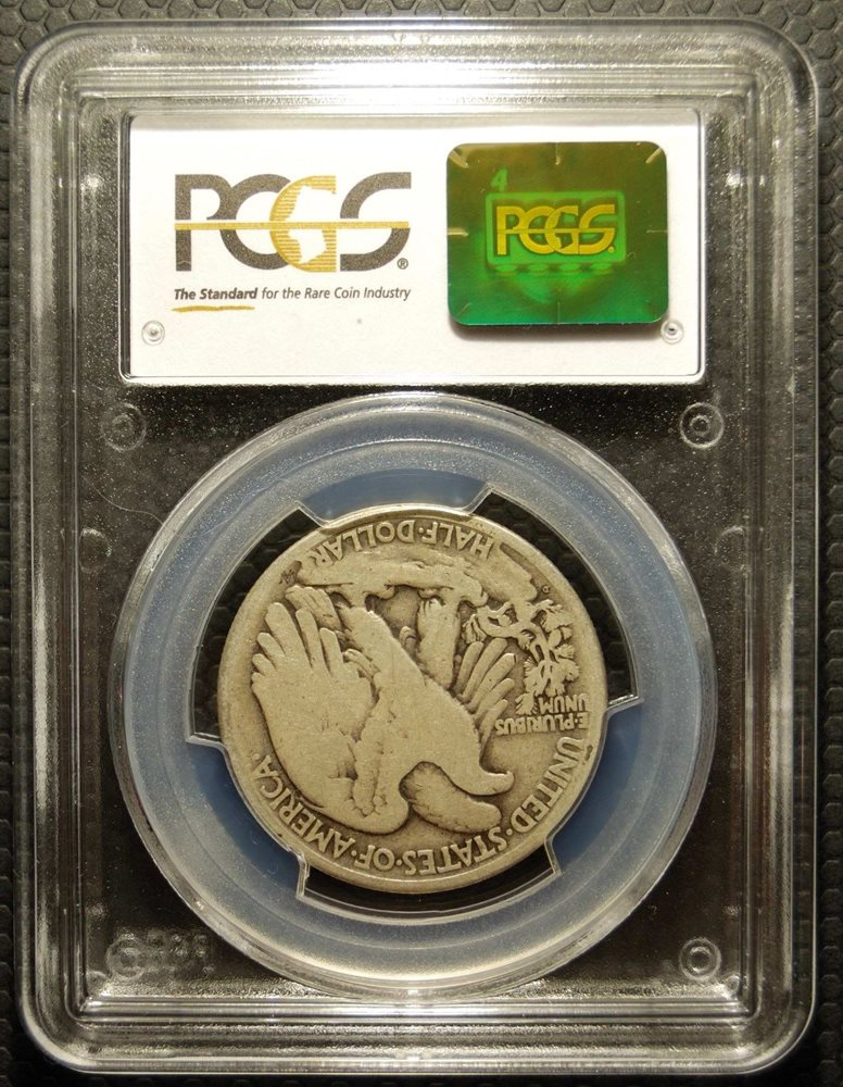9154146af PCGS Good G06 1921-D Silver US Walking Lady Liberty Half Dollar Nice ...
