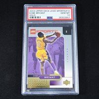 Kobe Bryant 2003 Upper Deck Lego Sports Gold #10 PSA 10 GEM MINT (Population 1)