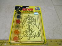 VTG NOS Batman Easy Painting 1991 Craft House Kit Paint by Numbers