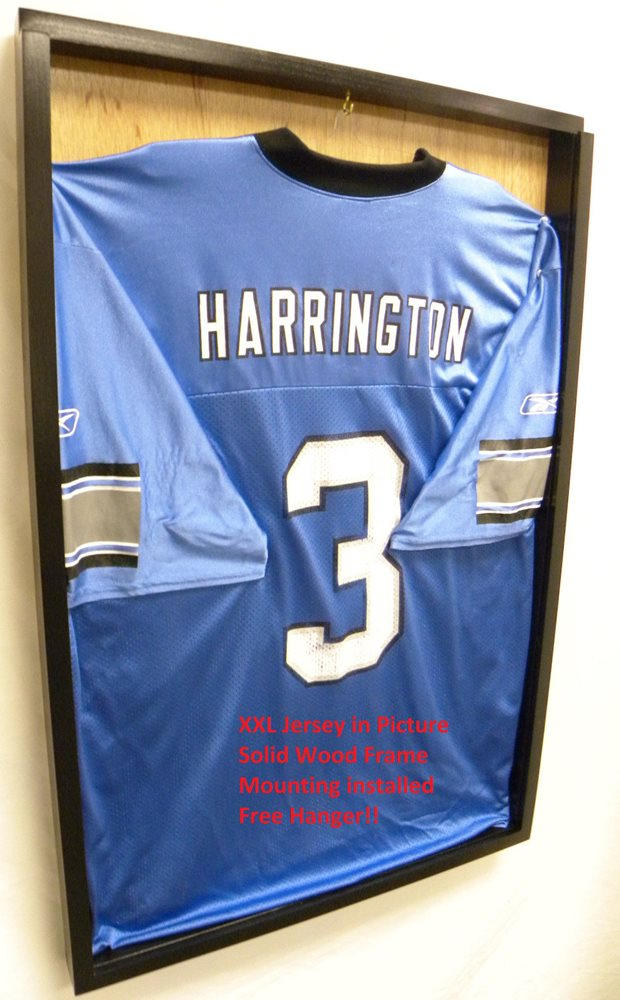 Jersey Display Case Frame Shadow Box Football Baseball
