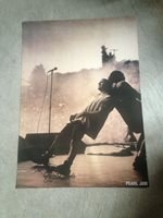 """Pearl Jam live in concert 23"""" x 33"""" poster - Eddie Vedder - NEW, shipped rolled"""