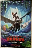 How To Train Your Dragon Movie Poster Hidden World 11