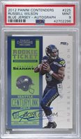 2012 Panini Contenders - [Base] #225 - Rookie Ticket RPS - Russell Wilson /550 [PSA 9 MINT]
