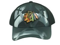 81af962b New Chicago Blackhawks Youth One Size Fits Most Official Reebok Center NHL  Hat