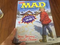 MAD TURKISH edition NR: 6 MAD TR only 12 months PRINTED ! check FUN ART !
