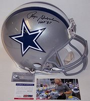 b4a472c7b Roger Staubach Autographed Hand Signed Dallas Cowboys Full Size Authentic  Football Helmet - with Hall of