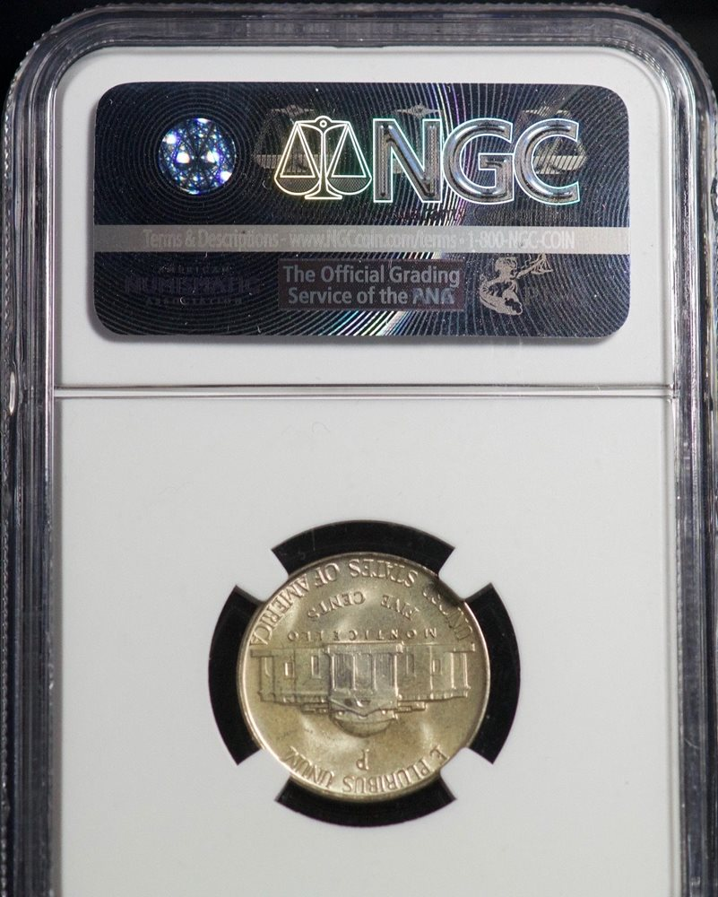 1942-P//S Jefferson Silver War Nickel 5C NGC MS66 2-Coin Set