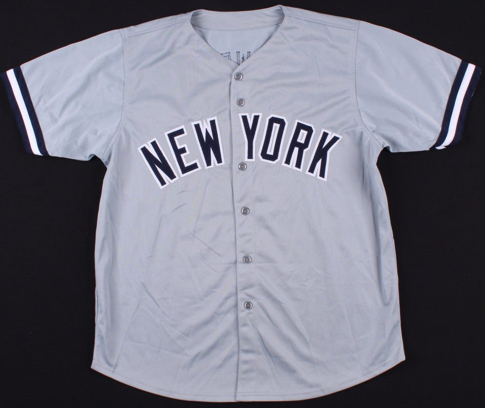 Darryl Strawberry Signed New York Yankees Jersey (JSA) e340b35d6ea