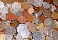 25 Different World Foreign Coins + 7 Banknotes! Grab Bag! Great Assortment!!