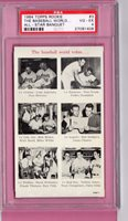 Tony Conigliaro 1964 TOPPS BANQUET Card PSA Rookie Boston Red Sox