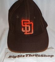 6d3eff1ba49 San Diego Padres Sports Specialties Wool Fitted Cap Hat