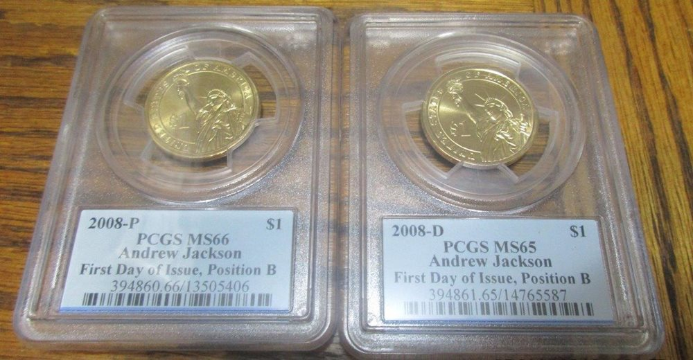 2018-D Innovation Dollar 1st Patent Coin PCGS MS64 Position B