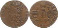 Liard 1746 Lüttich, Bistum Johann Theodor from Bayern, 1744 1763