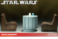 Star Wars 12 Inch Scale Environment Sideshow - Mos Eisley Cantina