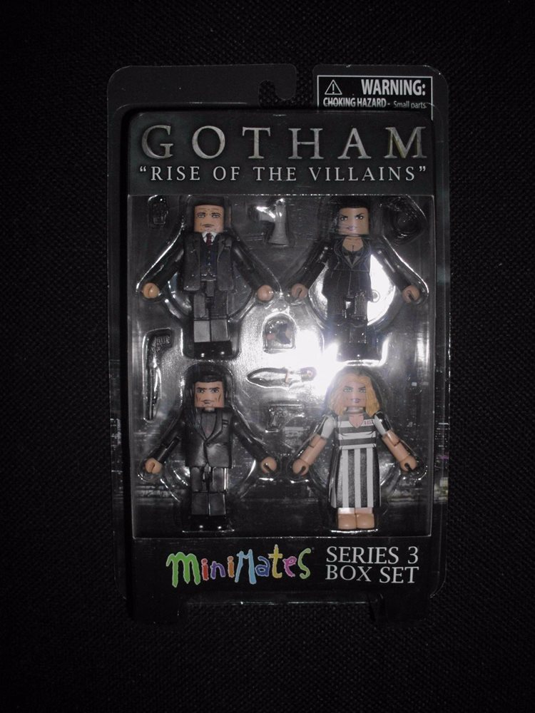DC GOTHAM RISE OF THE VILLAINS SERIES 3 MINIMATES SET DIAMOND SELECT