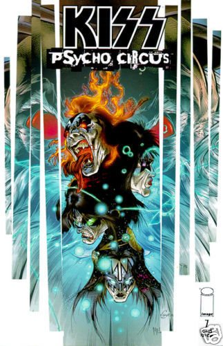 KISS Psycho Circus Comic Issue 17 March 1999