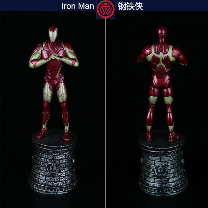 """6/"""" Avengers Hero PVC The Hulk Action Figure Statue Collection Chess Piece Toys"""