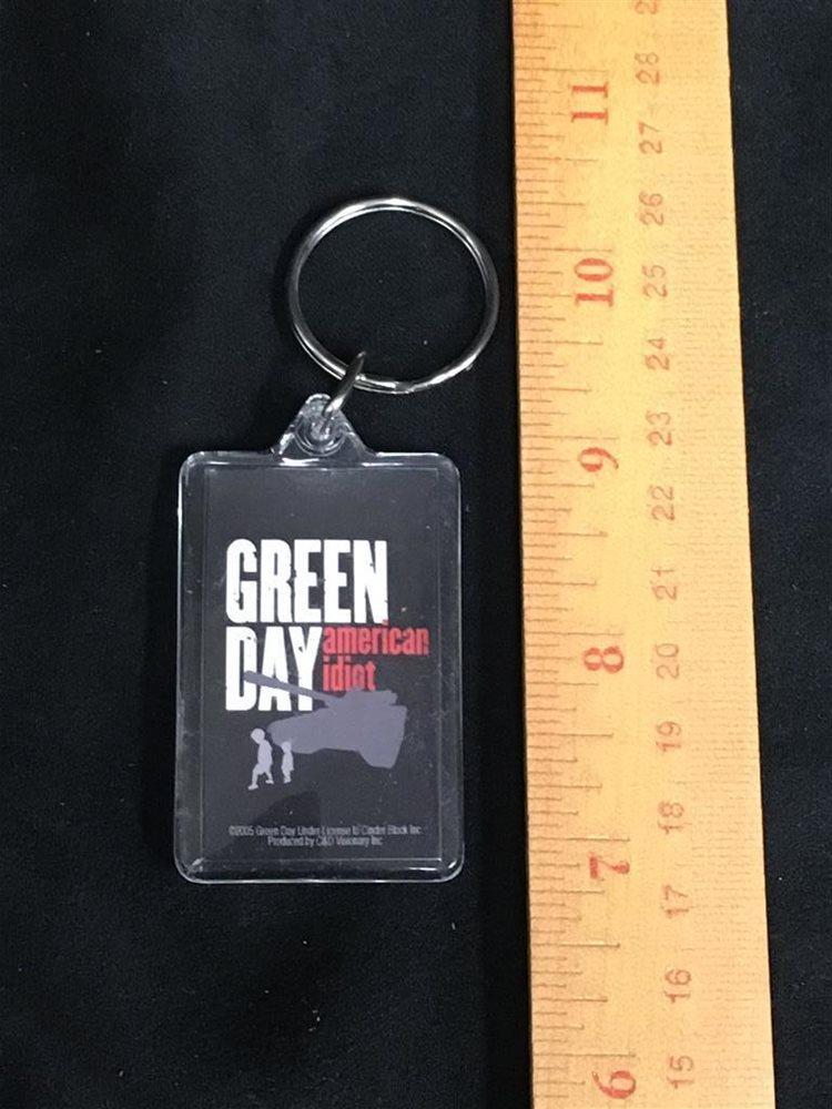 Green day keychain