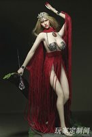 1//6 Scale Customize Goddess Of Love Metal Clothing F Ph Female Large Bust Figure