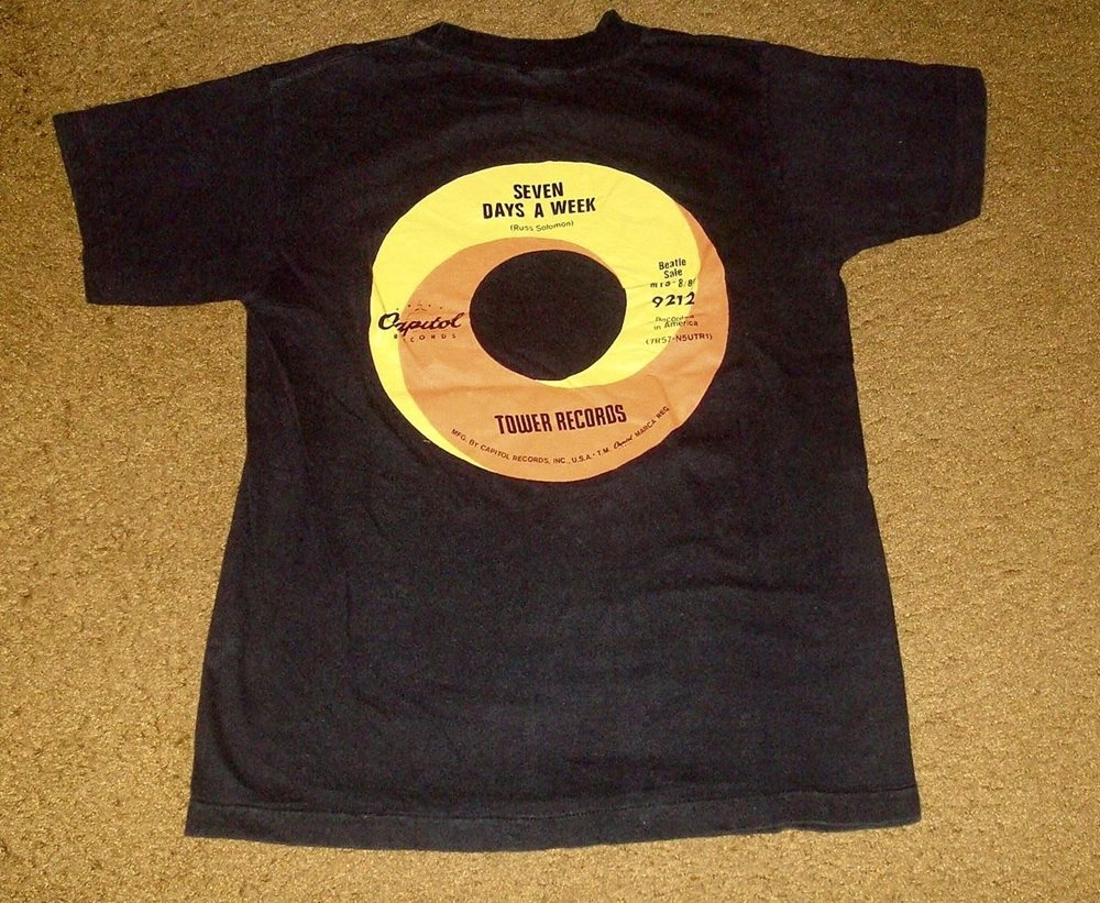 dcb3f3f76 THE BEATLES ~ LOVE SONGS ~ DOUBLE-SIDED PROMO T-SHIRT ~