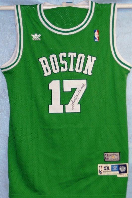 promo code f71ec 6b82b John Havlicek Autographed Celtics Jersey