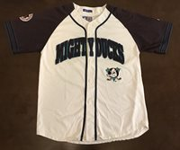 Rare Vintage Starter NHL Anaheim Mighty Ducks Baseball Jersey 4513599d7