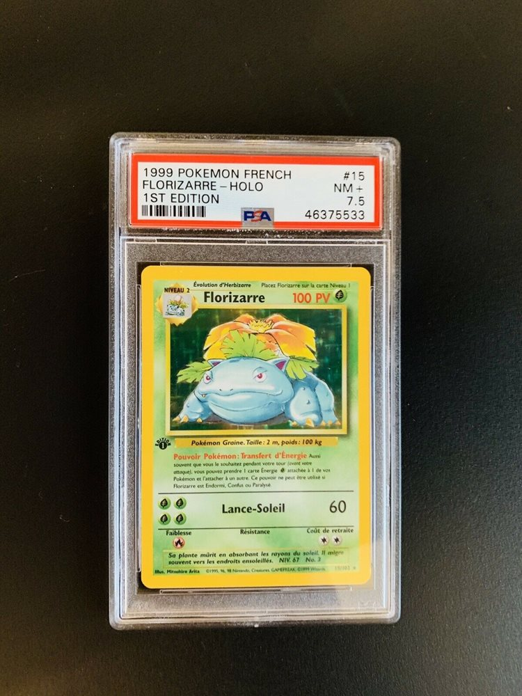 Pokémon card florizarre xy123 promo fullart french generation