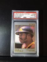 1988 STAR CO. GOLD DAVE WINFIELD #134 PSA 10 GEM MINT