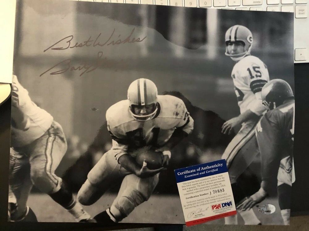 Autographed Green Bay Packers 8x10 inch Photo Bob Skoronski Signed