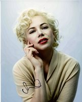 MICHELLE WILLIAMS Signed MY WEEK WITH MARILYN MONROE 11x14 Photo w/ Hologram COA