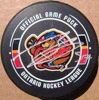 d6edb47e6 Connor McDavid signed Erie Otters Hockey Puck Rookiegra