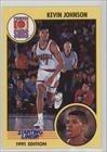 Kevin Johnson (Basketball Card) 1991 Kenner Starting Lineup #KEJO