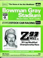 Bowman Gray Stadium NASCAR Modified Stock Car Program