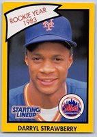 Yellow NEW YORK METS 1990   KEVIN MITCHELL Kenner Starting Lineup Card