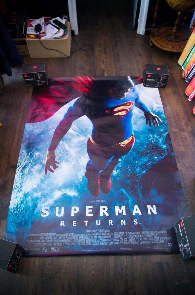 Superman Returns Movie Poster