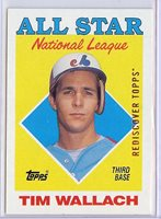 2017 Topps Rediscover buyback bronze 1988 399 Tim Wallach All Star Expos