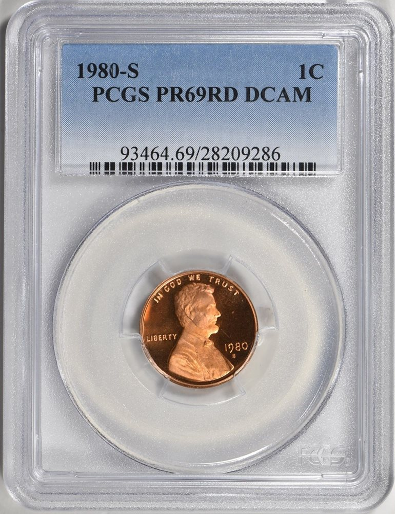 1980-S PROOF LINCOLN CENT