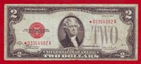 $2 two dollars 1928F STAR NOTE Replacement United States Note US Julian-Snyder