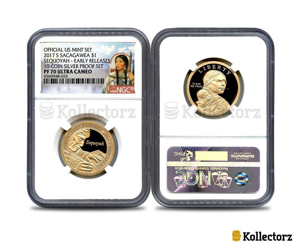 Portrait 2018 S Sacagawea $1 Jim Thorpe FIRST RELEASES NGC PF69 Ultra Cameo