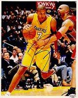Brian Cook L.A. Lakers 2003-2012 Autographed 8x10 Photograph Orlando Rare SL COA