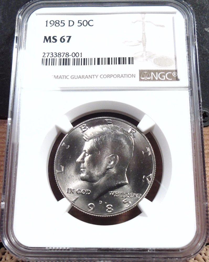 2013 P Kennedy Half Dollar 50c NGC MS67