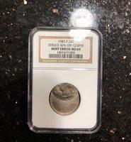 1983-P Washington Quarter NGC MS64 Mint strike error 50