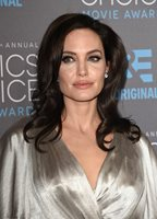 Angelina Jolie Posing Silver Dress 8x10 Picture Celebrity Print