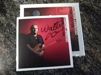 Signed Ordinary Madness Deluxe Edition Walter Trout Audio CD autographed