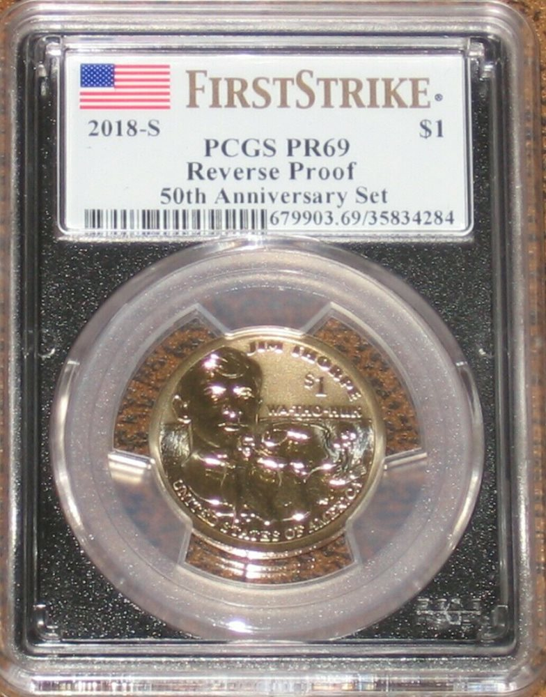 2015-S PROOF Sacagawea Native American Dollar Coin PCGS PR69DCAM FIRST STRIKE